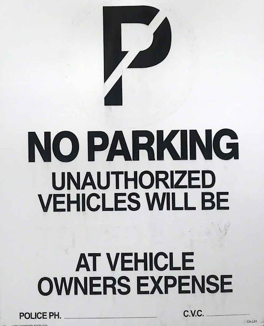 blanks, fill-in, Okinawa, No Parking, sign, Wordless-Wednesday