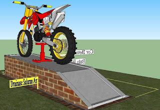 Gambar Desain Tempat Cucian Motor