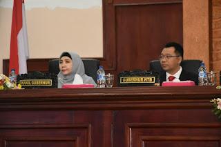Sidang Paripurna DPRD NTB, Gubernur Dr. Zul Sampaikan Visi dan Misi 5 Tahun Ke Depan