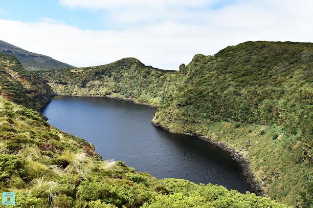 Lagoa Comprida, isla de Flores (Azores)