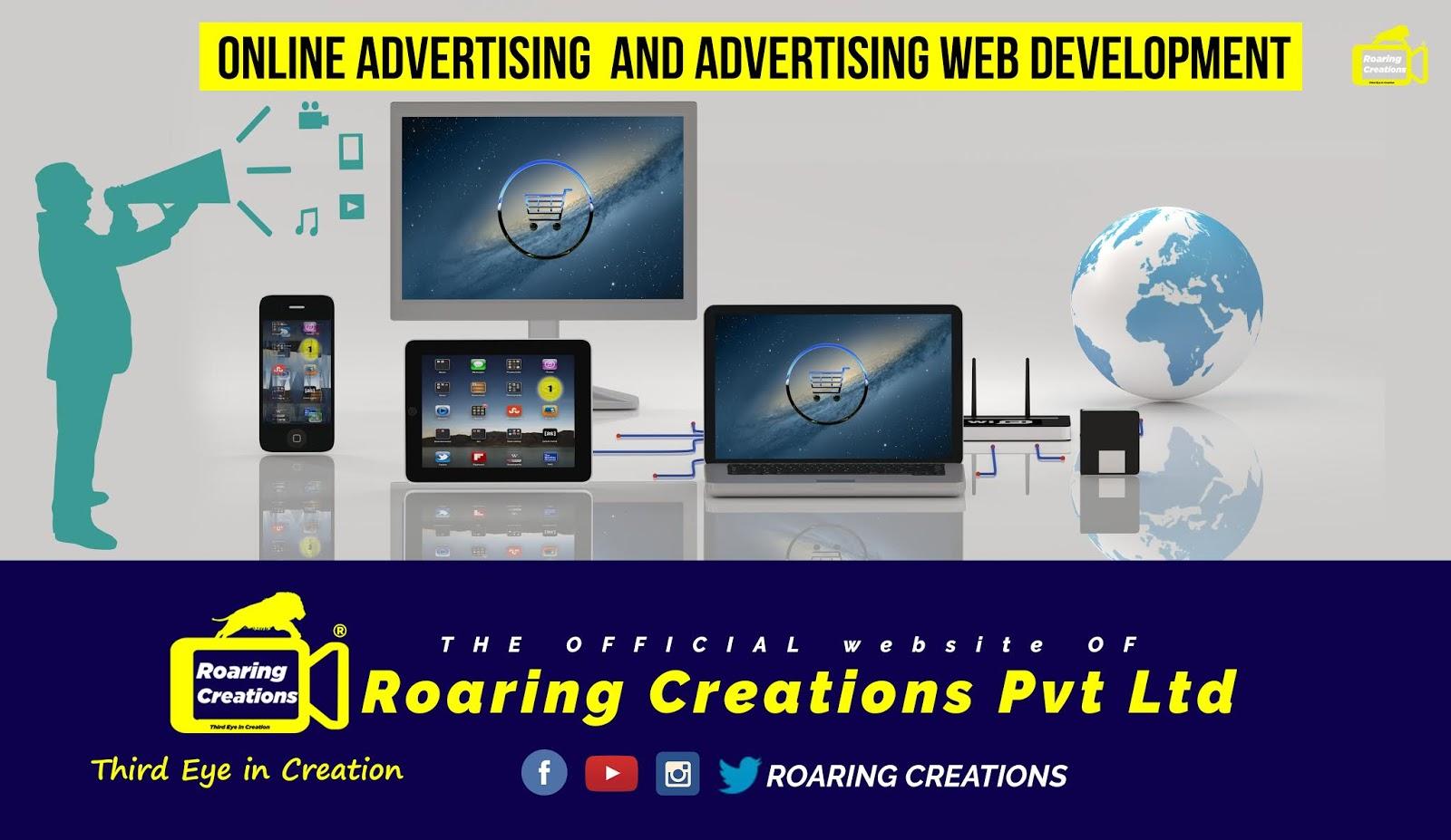 Online Advertising @Roaring Creations