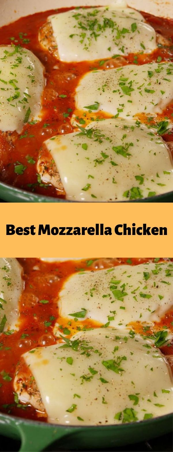 Best Mozzarella Chicken