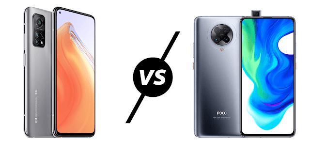 Xiaomi Mi 10T Lite vs Poco F2 Pro