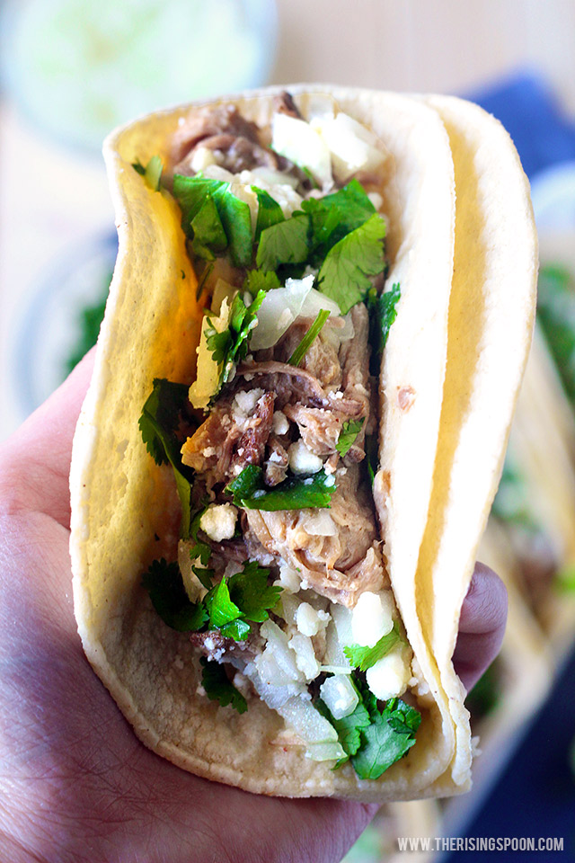 Street-Style Carnitas Tacos