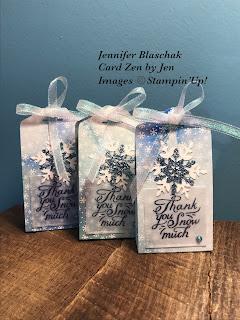 Snowflake Wishes Treat Bag