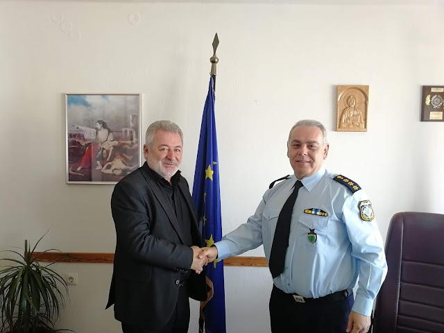 Συνάντηση του Δημάρχου Ηγουμενίτσας με τον Αστυνομικό Διευθυντή Θεσπρωτίας.