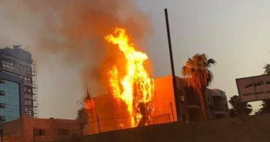 حريق حميات إمبابة