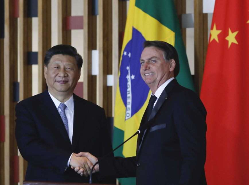 """Bolsonaro reforçs """"laços de amizade"""" em conversa com Xi Jinping por telefone"""