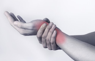 une tendinite du poignet