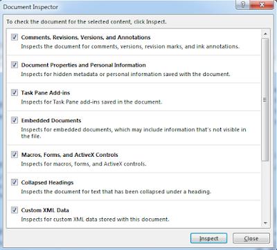 Cara Memperoleh Informasi Title, Tags, dan Comment pada Microsoft Word Office 2016