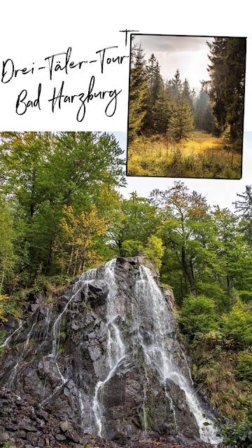 Drei-Täler-Tour  Themenwanderweg Bad Harzburg  Wandern im Harz  Baumwipfelpfad - Radauwasserfall - Eckertalsperre 20