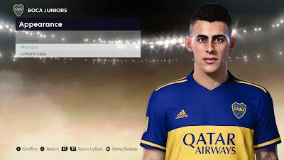 PES 2021 Faces Cristian Pavón