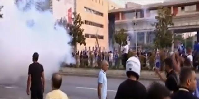 Επεισόδια λίγο πριν την ομιλία Τσίπρα στη Θεσσαλονίκη (βίντεο)