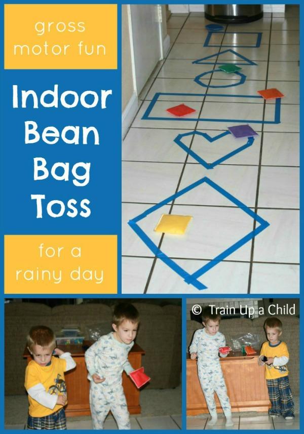 6 Indoor Games to Get Kids Moving {Indoor Gross Motor Play ...