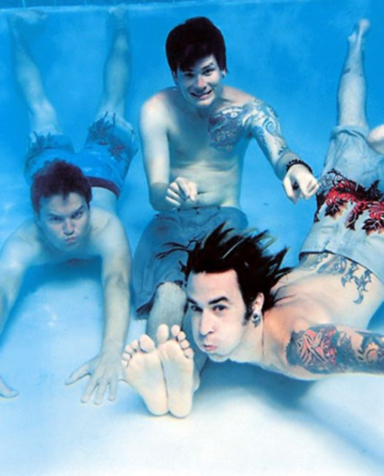Blink 182 The Mark Tom And Travis Show The Enema Strikes Back