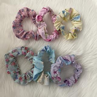 loveshackfancy x target scrunchies