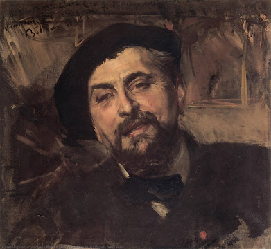 Ernest Ange Duez by Giovanni Boldini