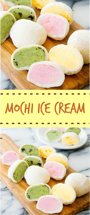 Mochi Ice CreamMochi Ice Cream