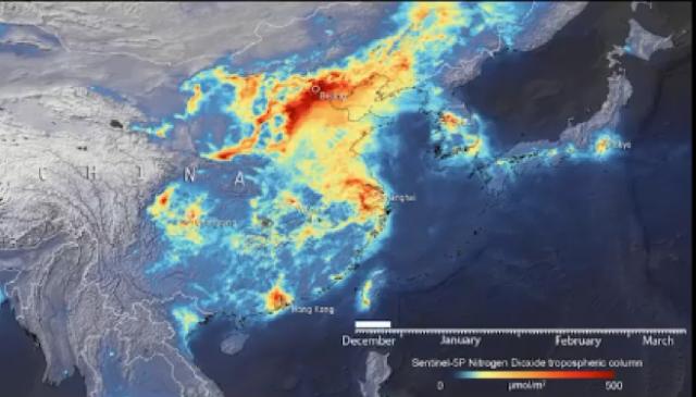 Pemodelan Data Satelit Saat Covid-19, Bumi Lebih Bersih