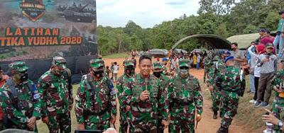 KASAD Andika : Lat Ancab TNI AD 2020 Melibatkan Hal-Hal Baru