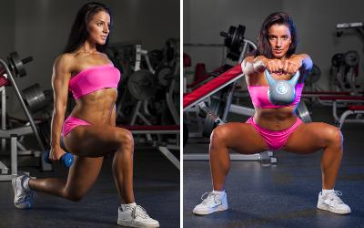 exercises routines for women