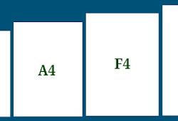 Perbedaan Kertas A4 F4 Letter Dan Legal Serta Penggunaannya Koesrow