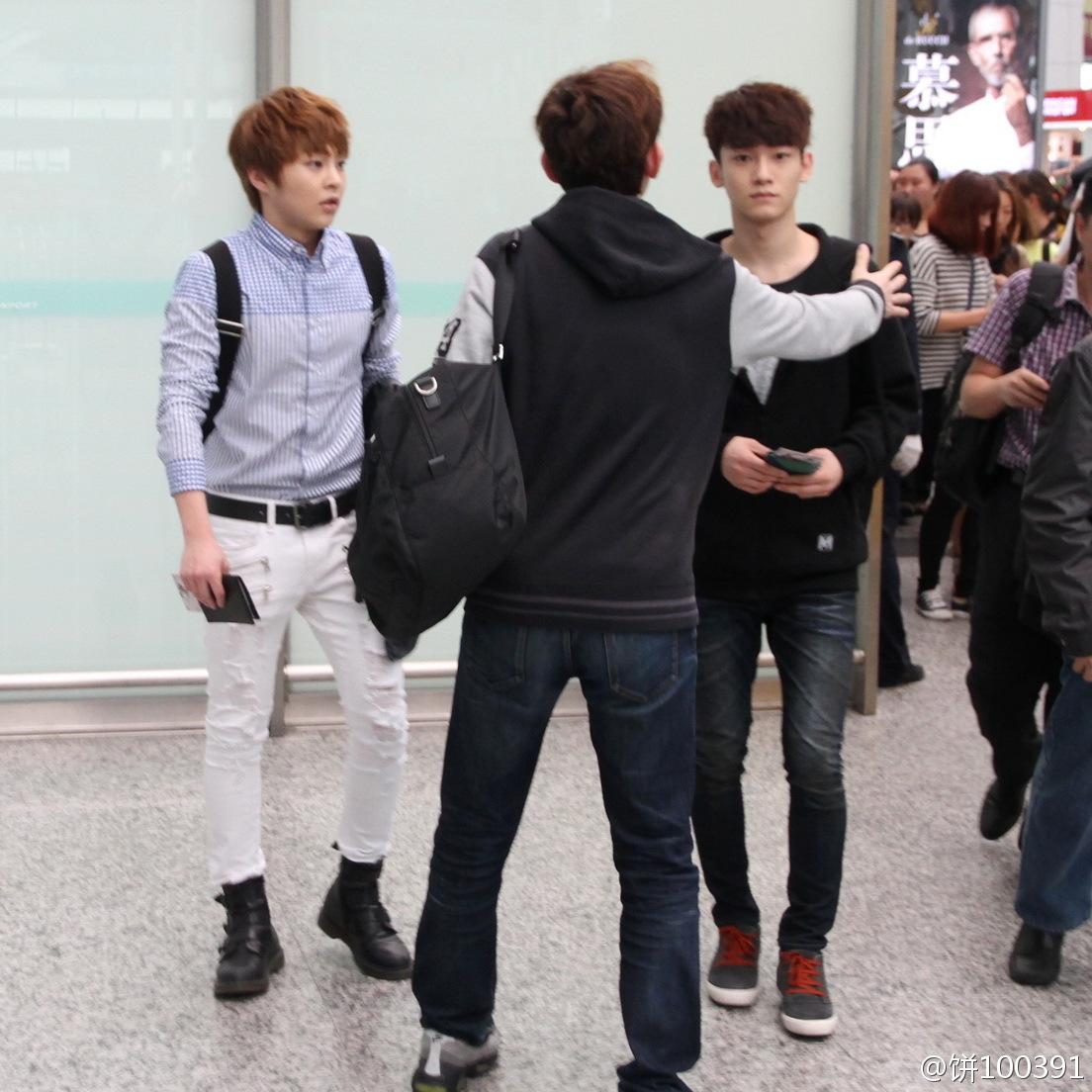 Exo lay airport fashion