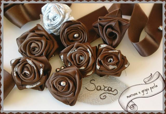 Favorito pensieri romantici : Double Color #4: cioccolato e grigio perla  TM68