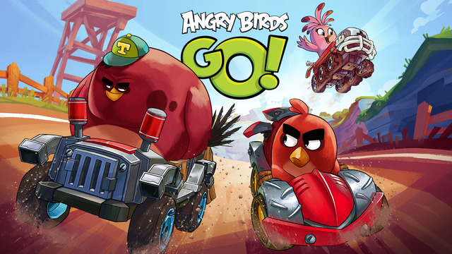 Angry birds go Android game