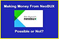BEST FREE MONEY STRATEGY: NEOBUX  EARNING
