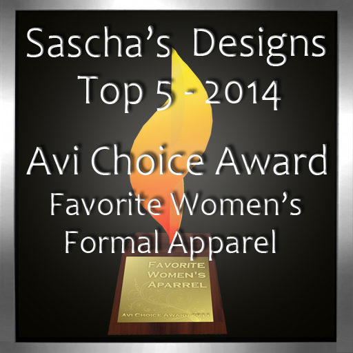 Sascha's Designs - Avi Choice Award 2014
