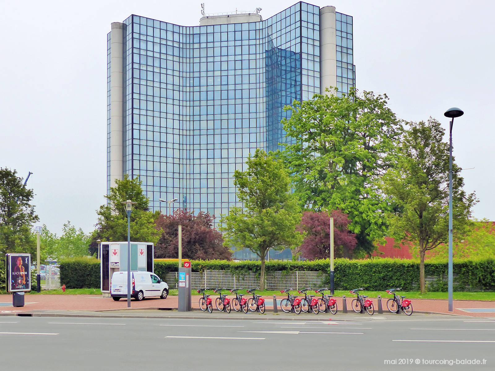 Tour Mercure - Station V'Lille Mercure