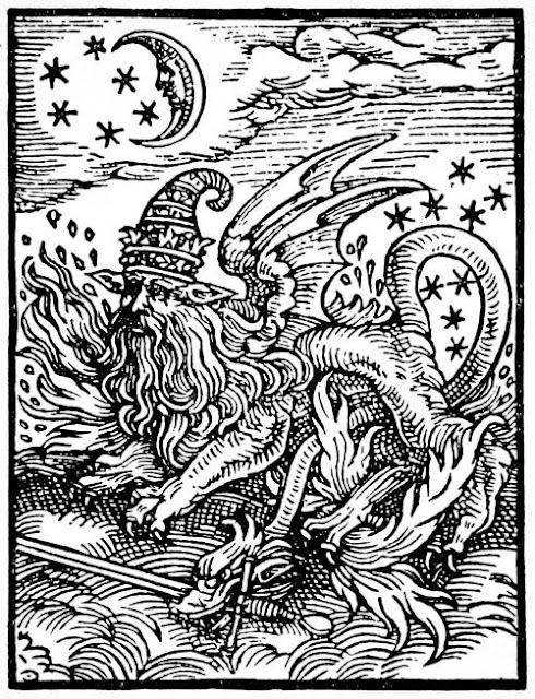 Makhluk Mitos Misterius Dengan Elemen Api