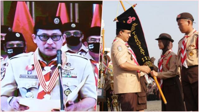 Buwas Pilih Anies Jadi Ketua Majelis Pembimbing Daerah Pramuka