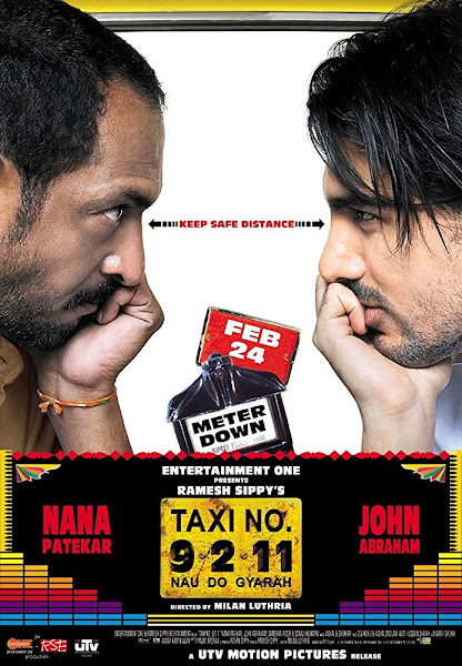Poster of Taxi No 9211 (2006) Full Movie 720p Hindi HDRip x264 ESubs Download