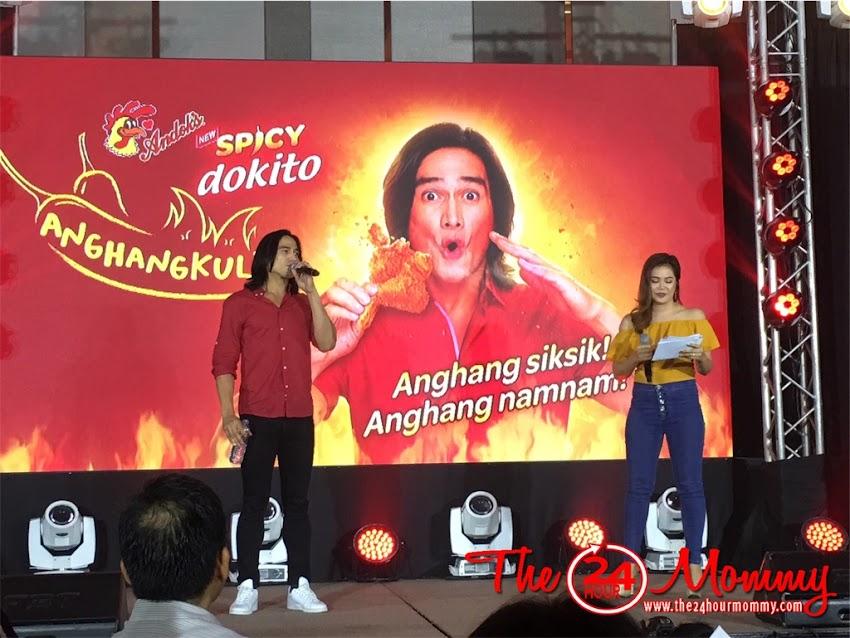 Piolo Pascual is Andok's Spicy Dokito Brand Ambassador