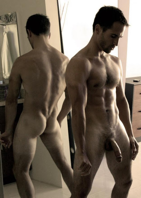 sensuous sexy handsome men naked