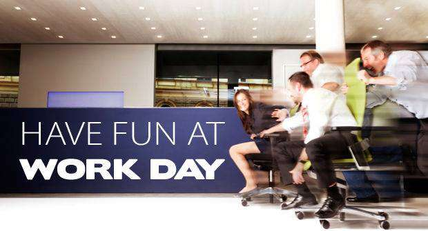 National Fun at Work Day Wishes Photos