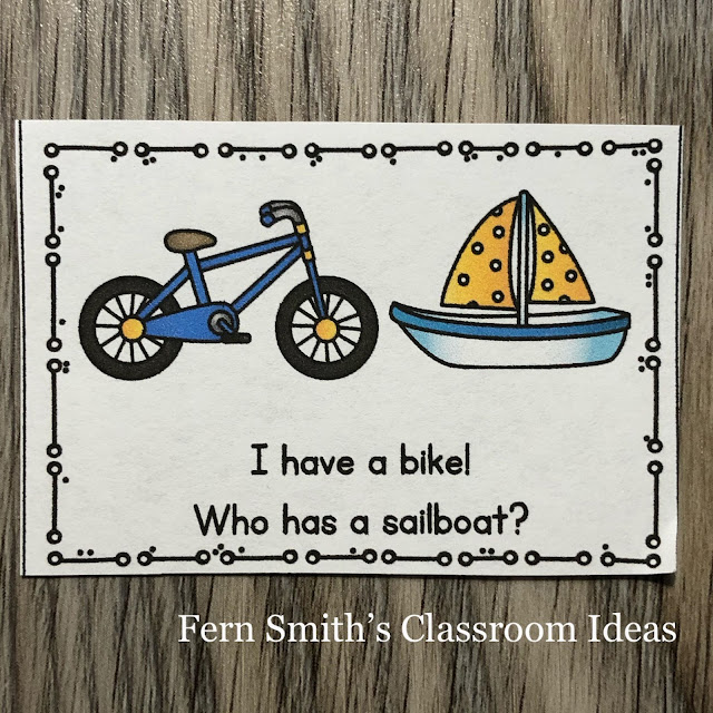 I Have, Who Has? Transportation Cards, Teacher Directions and a Teacher Answer Key by Fern Smith's Classroom Ideas Available for You at TeachersPayTeachers.