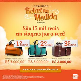 Concurso Relax na Medida 4° edição
