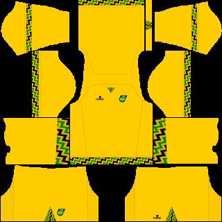wholesale dealer 0ba9b 0845f Jamaica national football team Kits 2016/2017 - Dream League ...