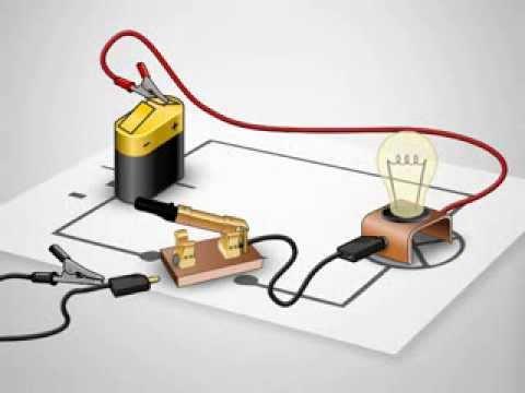 عناصر الدارة الكهربائية