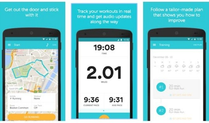 Aplikasi Olahraga Lari Terbaik tuk Android - Runkeeper