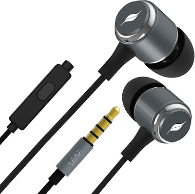 Leaf Metal Wired Earphones