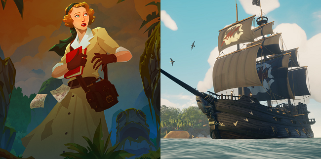 Comparison and contrast of Call of the Sea vs Sea of Thieves