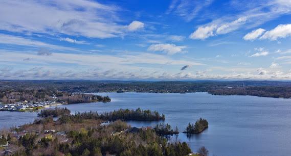 Porters Lake, Nova Scotia, Canada from the air