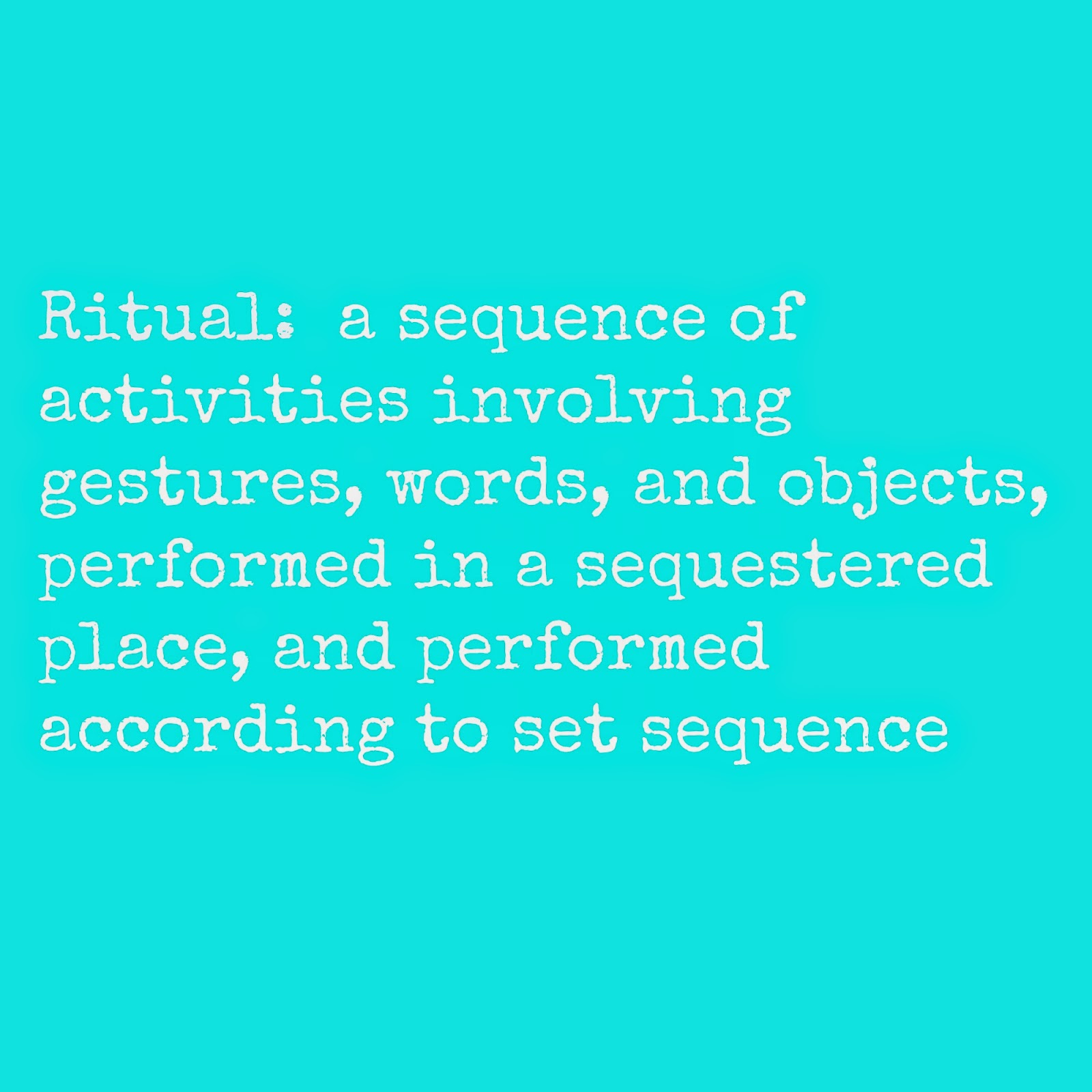 RITUAL DIFFERENCES