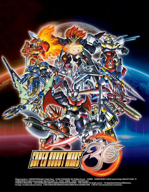Bandai Namco Entertainment Europa anuncia Super Robot Wars 30.