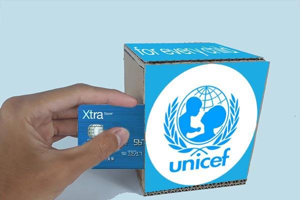 Donasi untuk UNICEF
