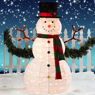 Indoor Snowman Winter Crafts